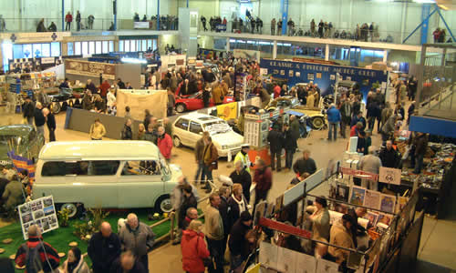 The Best Car Shows Around The UK - Indoor car show