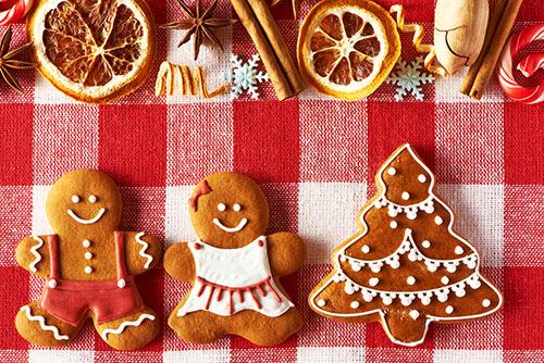 Edible art - gingerbread men